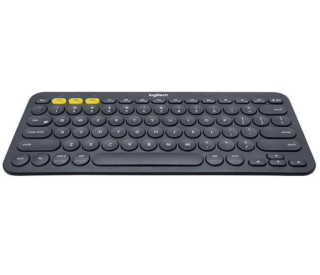 Logitech K380 Bluetooth Wireless Keyboard, Multi-Device with