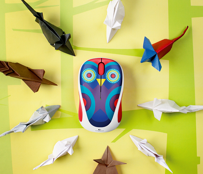 Play Collection M238, owl surrounded by Origami
