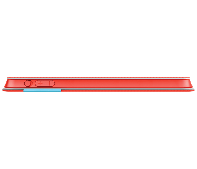 FabricSkin keyboard folio iPad thinkness