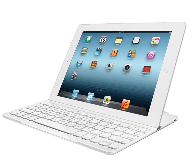 Ultrathin Keyboard Cover white