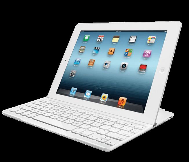 Ultrathin Keyboard Cover white