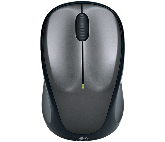 Wireless Mouse M317/M325, Colt Glossy, top view