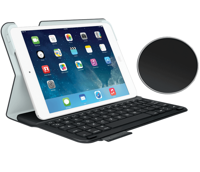 Ultrathin keyboard ipad mini black