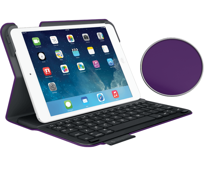 Ultrathin keyboard ipad mini purple