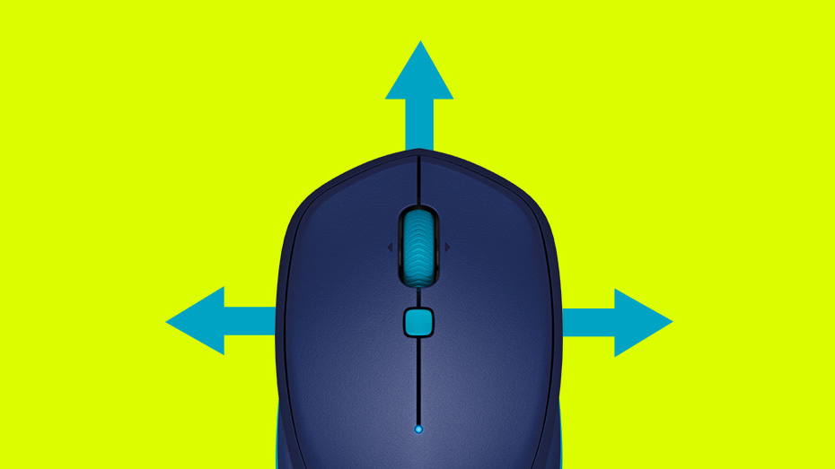 Feature - Smart control and easy navigation - mouse with arrows