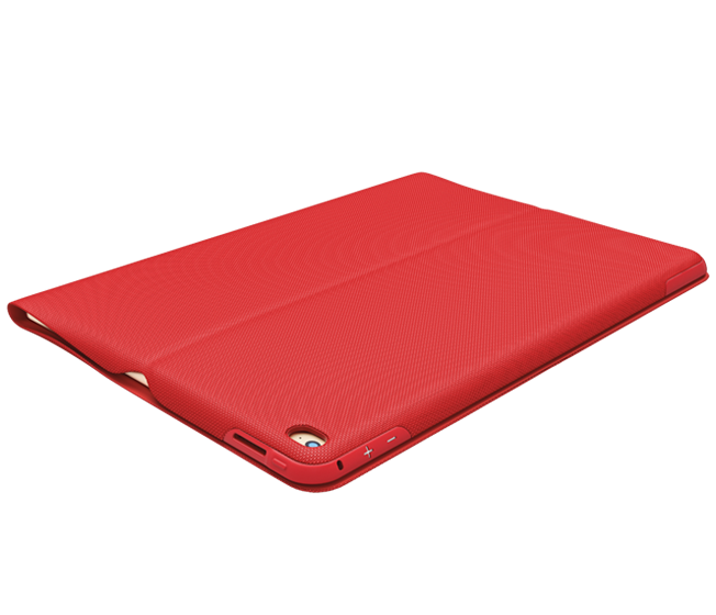 CREATE Case for iPad Pro, red, closed view
