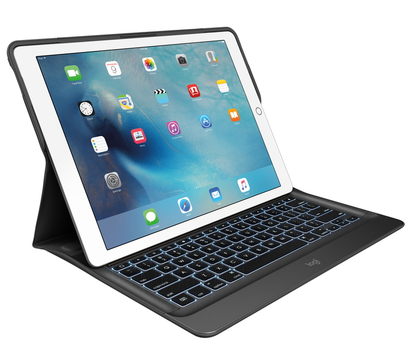 Logitech Create iPad Pro tastaturetui med Smart Connector