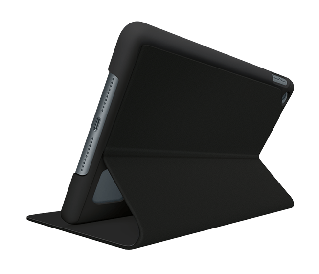 Focus flexible case for iPad, violet black