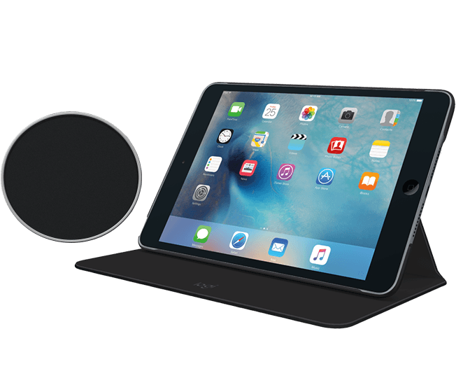 Focus flexible case for iPad black with swatch