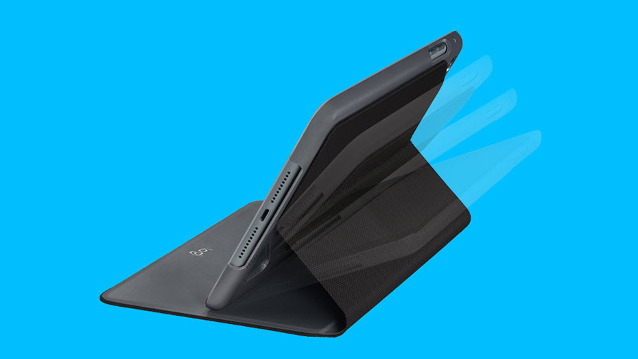 Focus iPad case with any angle stand