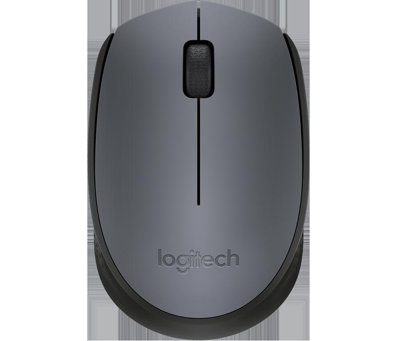 LOGITECH M170 Wireless Mouse Grey - Langattomat Hiiret - 5099206062887 - 1