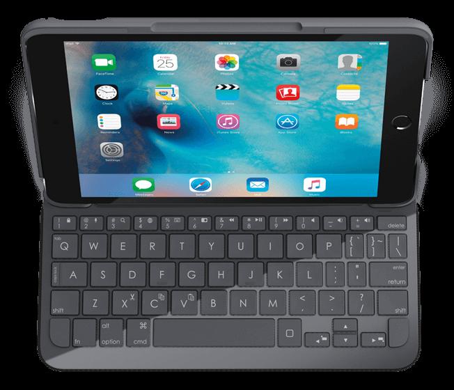 ロジクール ik0772 キーボードケース for ipad mini 4