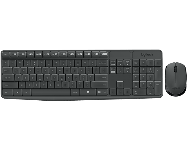 MK235 Wireless Keyboard and Mouse 1