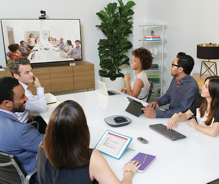 ConferenceCam CC3000e used in meeting