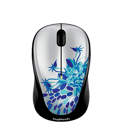 Wireless Mouse M235, Simply Serene, top view