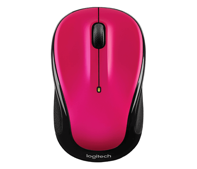 Logitech M325 Wireless Mouse Designed for Web Surfing with