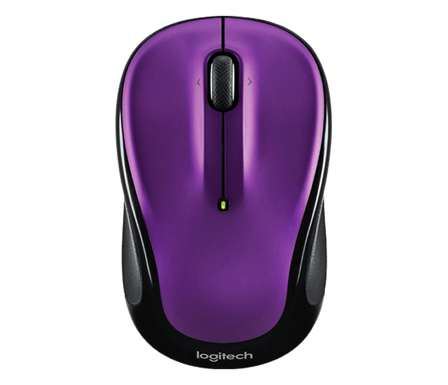 Logitech M325 Wireless Mouse Designed for Web Surfing with Precise