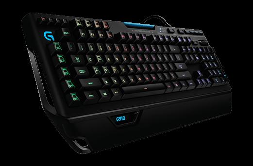 Side view G910 RGB Mechanical Gaming Keyboard