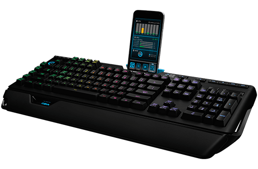 G910 RGB Mechanical Gaming Keyboard with integrated ARX Control