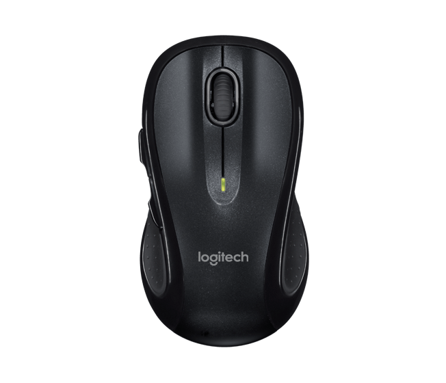 Logitech M510 Wireless Mouse with Back/Forward Buttons & Precision
