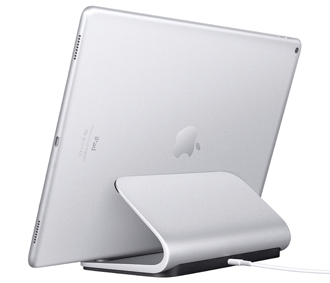 logitech base ladestation f r ipad pro mit smart connector. Black Bedroom Furniture Sets. Home Design Ideas
