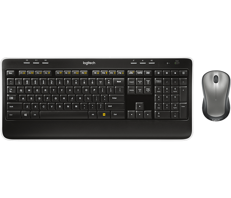 11090e97913 Logitech MK520 Wireless Keyboard and Mouse Combo with Built-in Palm Rest