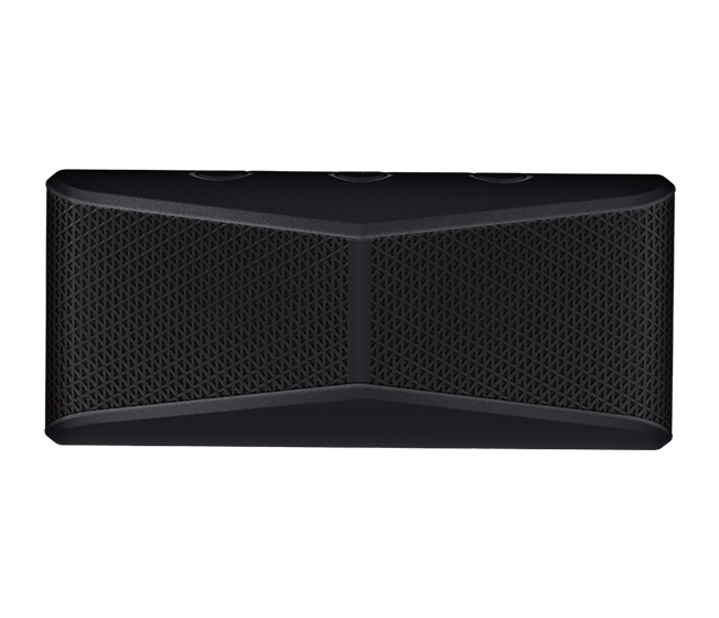 X300 Bluetooth wireless speaker black face view