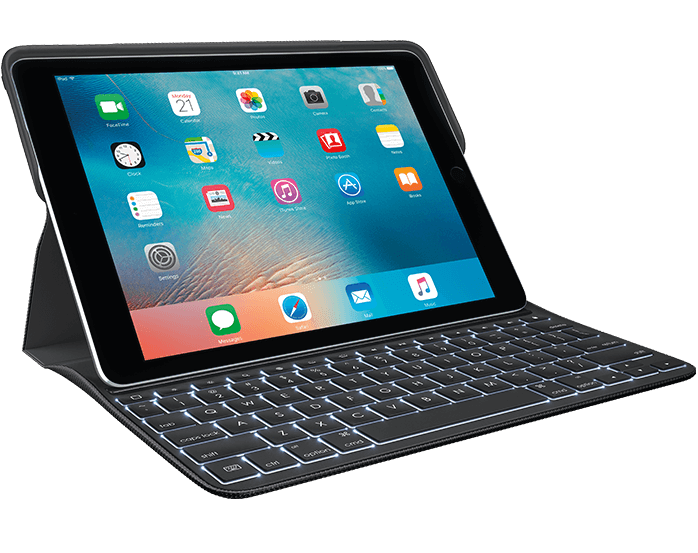 Logitech Create Ipad Pro Keyboard Case With Apple Pencil