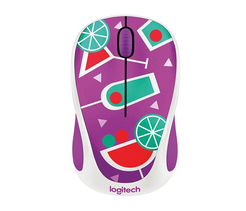 7550f62d591 Logitech Colorful Play Collection wireless mouse M238.