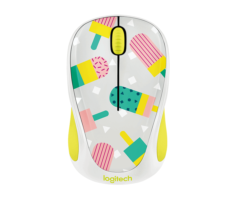 4f9fcb54bf9 Logitech Colorful Play Collection wireless mouse M238.