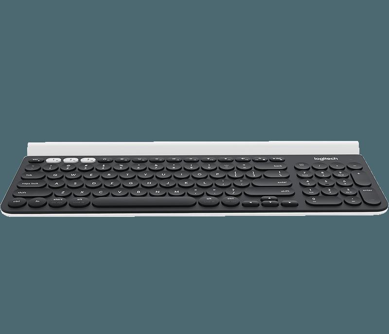 0c89c5257c1 Logitech K780 Multi-Device Wireless Keyboard with Silent Typing
