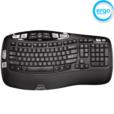 logitech wireless keyboard k350. Black Bedroom Furniture Sets. Home Design Ideas