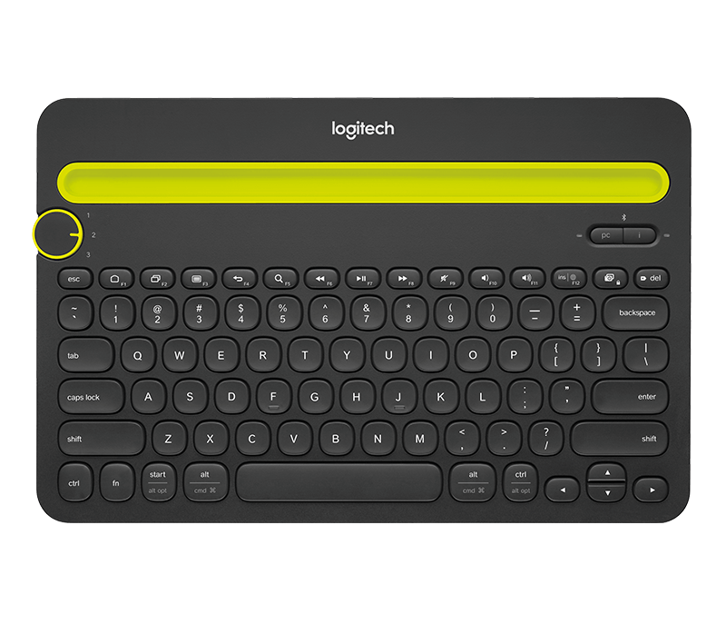 Bluetooth Multi-Device Teclado K480 3
