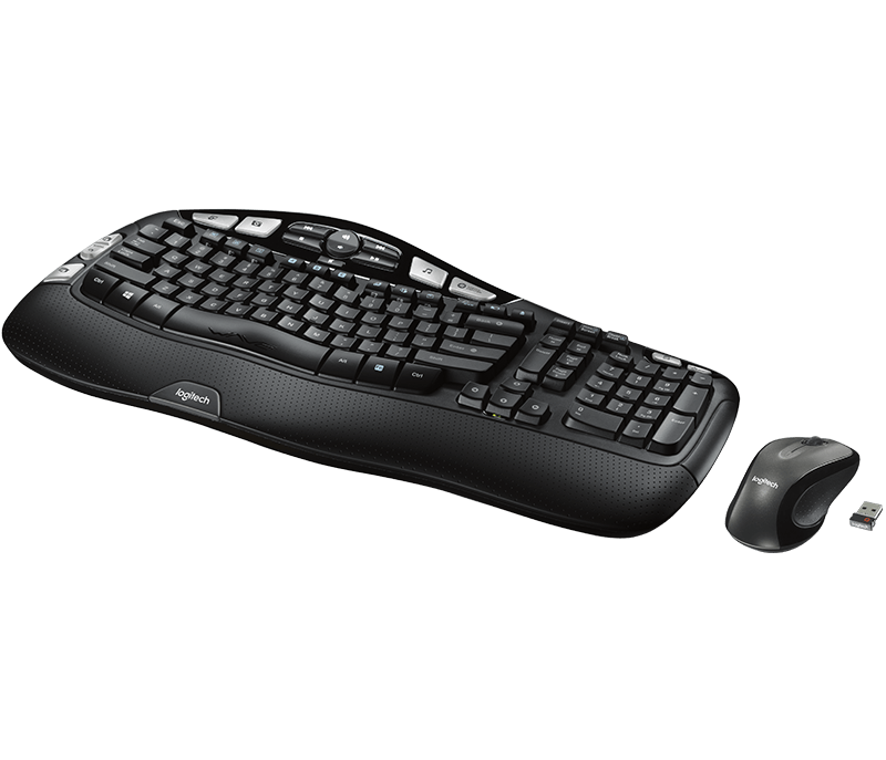 Logitech MK550 Compact Wireless Keyboard and Mouse Combo