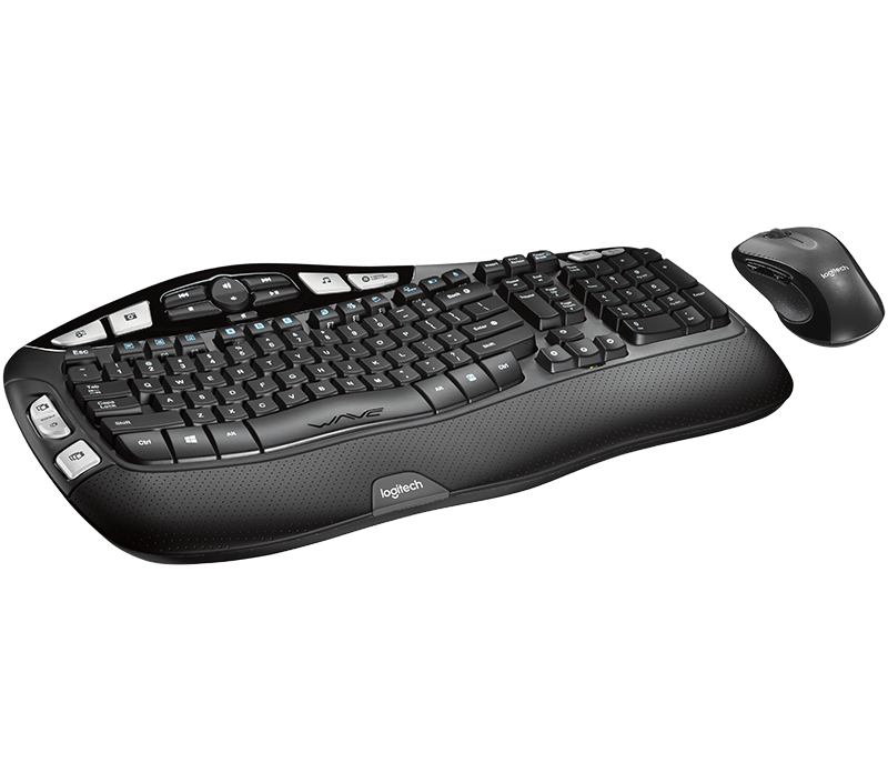 Logitech® Wireless Wave Combo MK550 2