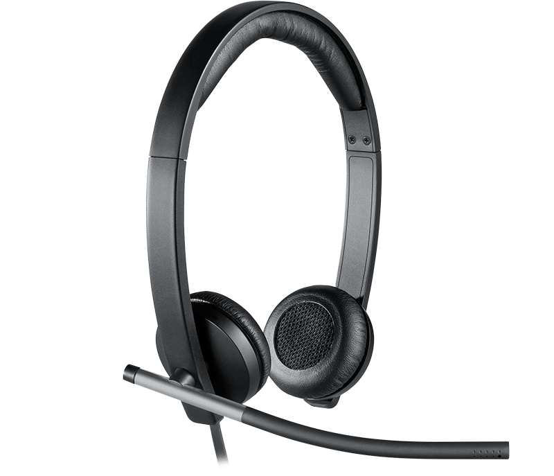 close-up on H650e headset