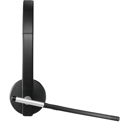 Logitech H820e Wireless Headset with Noise-Cancelling Mic