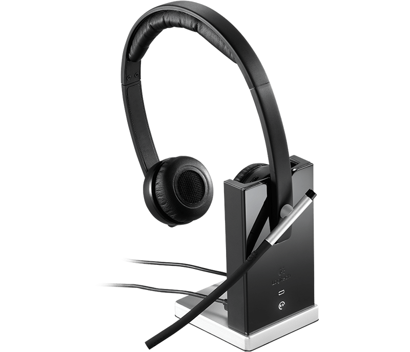 Logitech H820e Wireless Headset With Up To 300-Foot Range