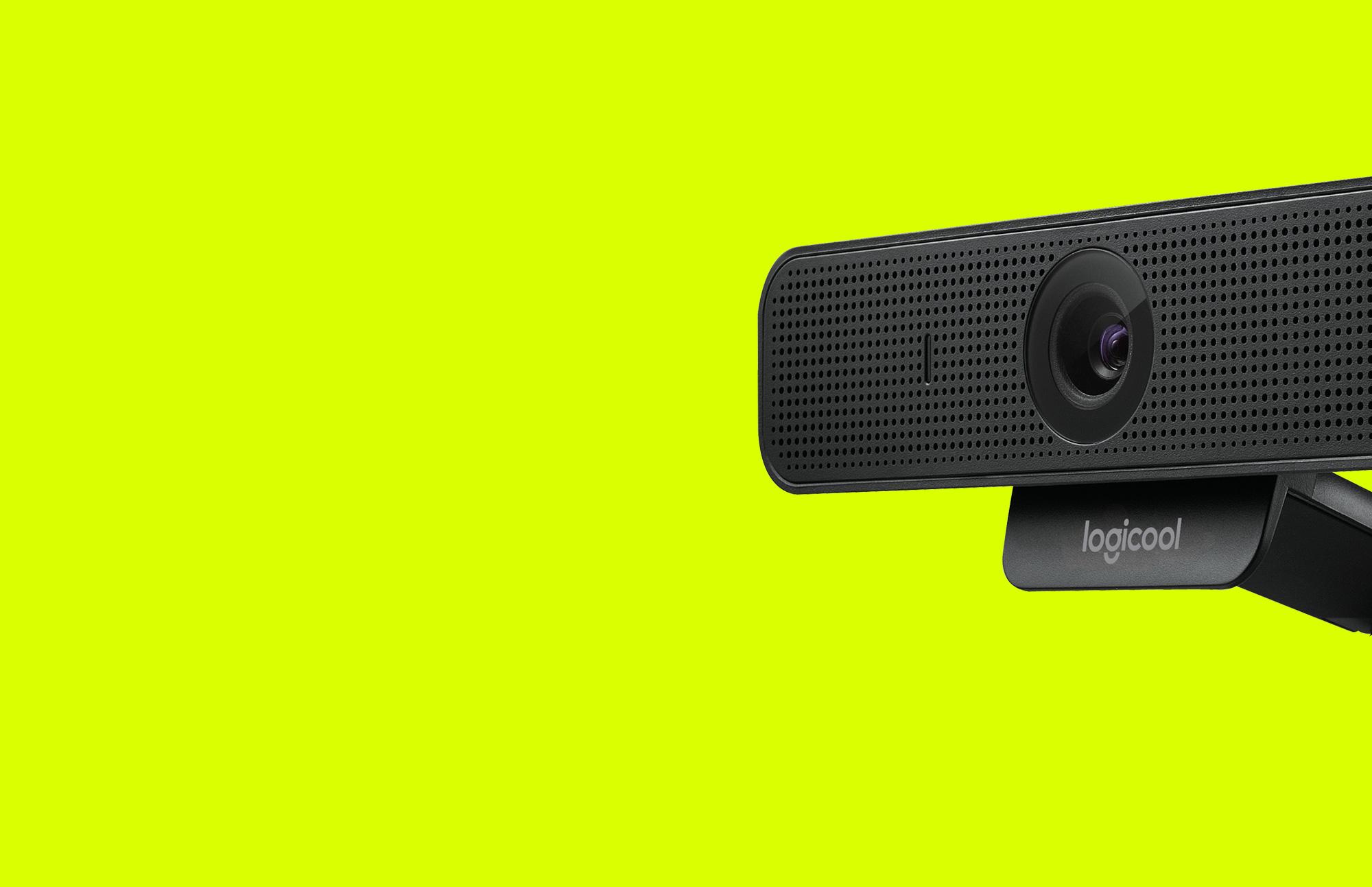 Side-view of C925e web cam