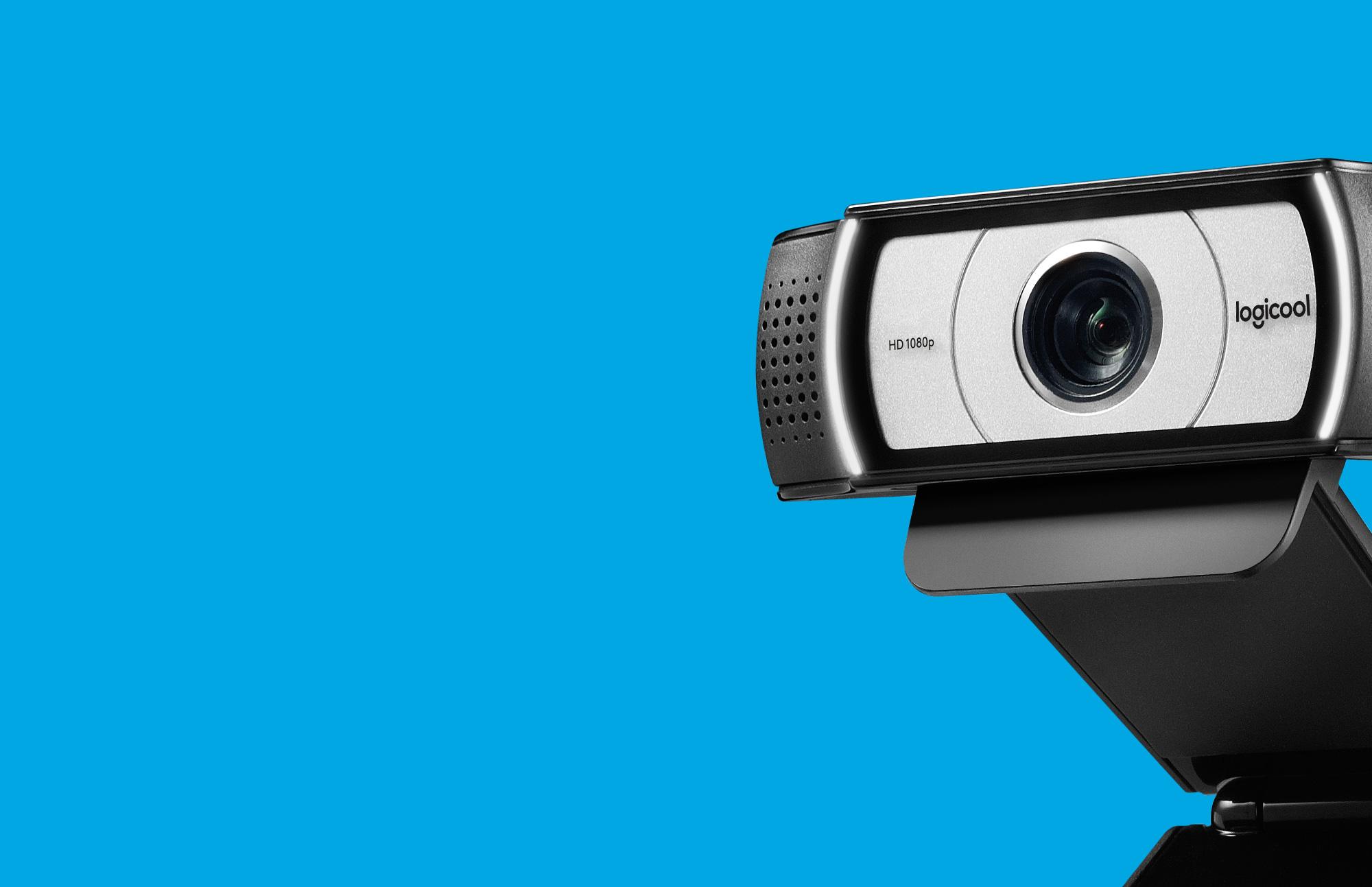 Side-view of C930e webcam