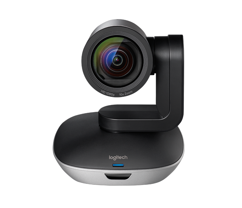 Close-up of GROUP video camera