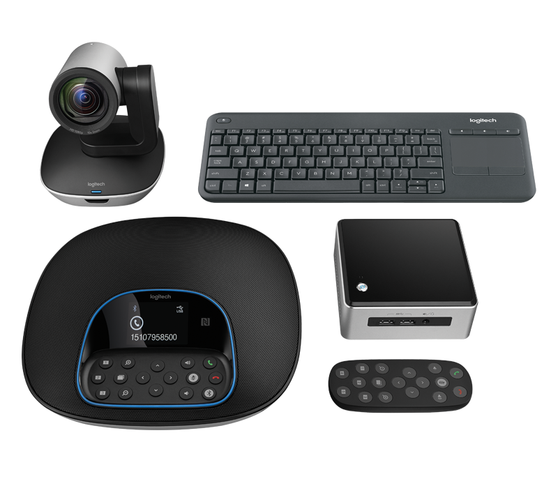 Logitech GROUP SYSTEM WITH INTEL NUC