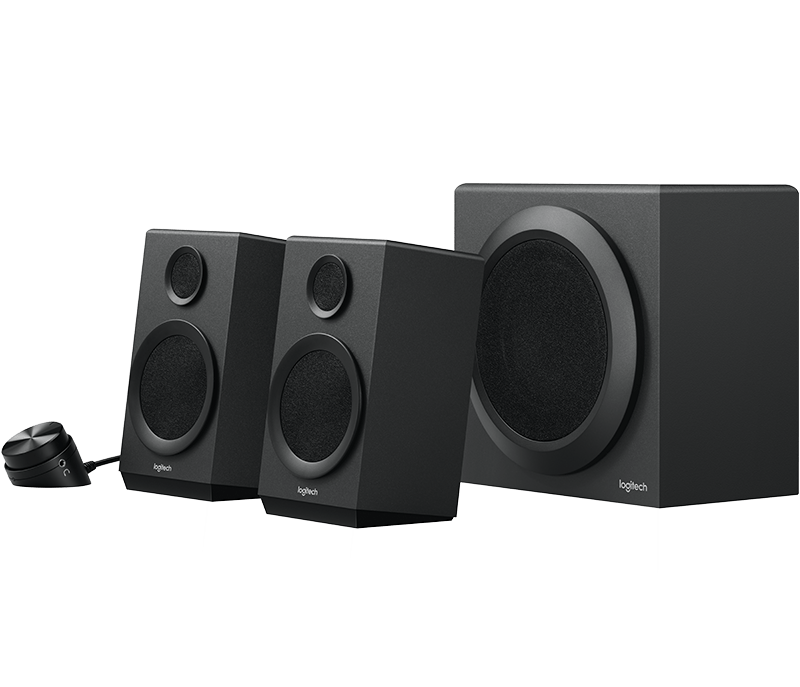 Wondrous Logitech Z333 2 1 Computer Speaker System With Subwoofer Strong Bass Wiring Database Wedabyuccorg