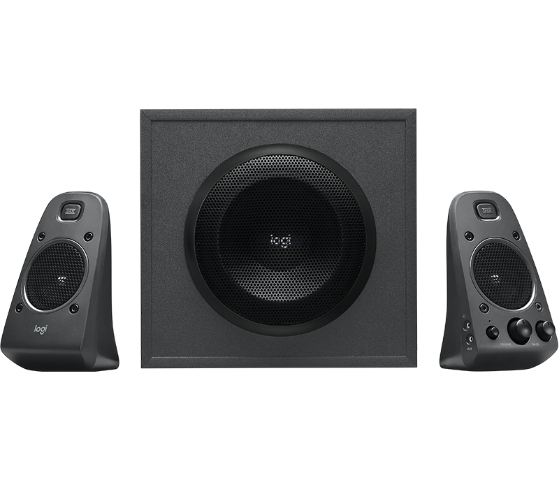 Z625 Speaker System With SubWoofer and Optical Input Front View