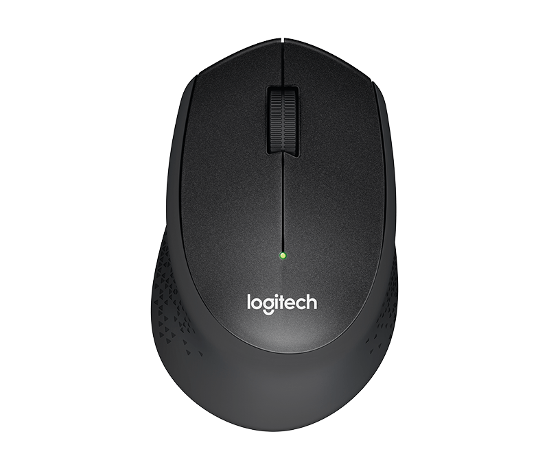 Logitech M330 Silent Plus Wireless Mouse with Quiet-Click Technology