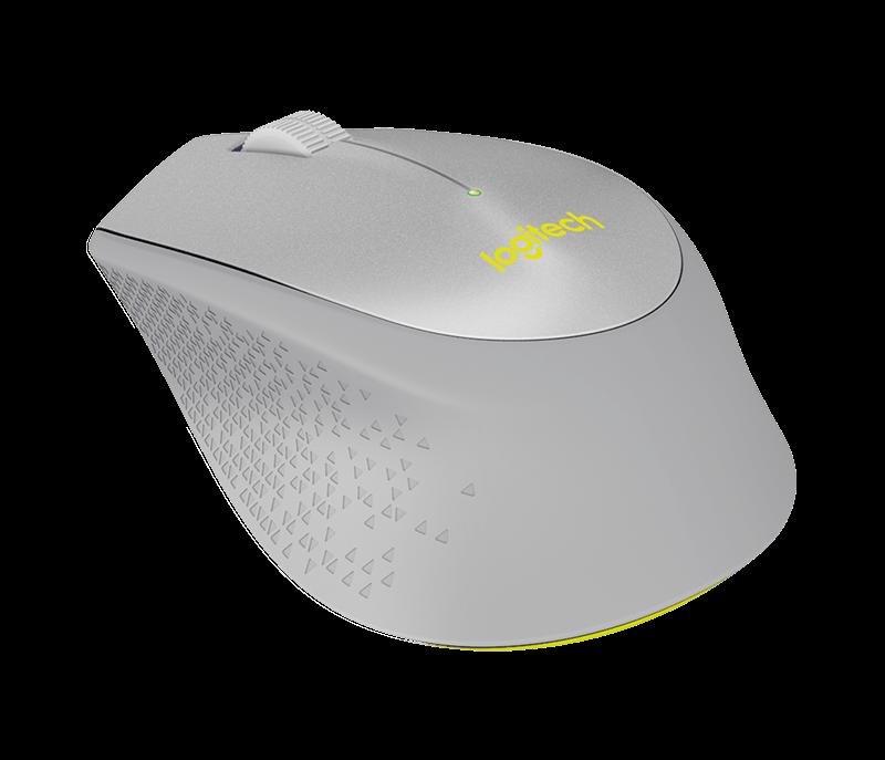 Logitech M330 Silent Plus Wireless Mouse with Quiet-Click