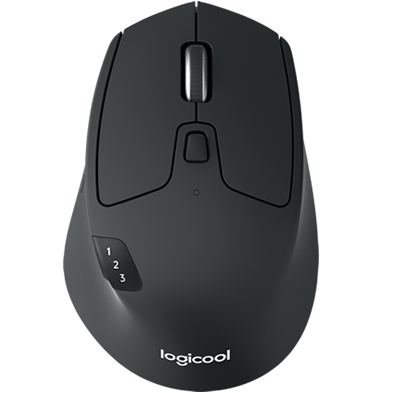 Birds eye view of M720 Mouse