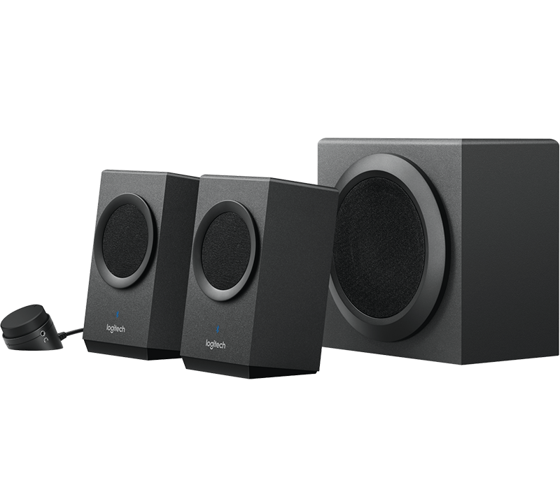 Logitech Z337 Speaker System With Subwoofer Amp Bluetooth