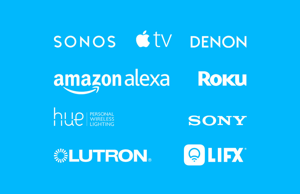 a list of companies that can be grouped into Harmony Companion activities