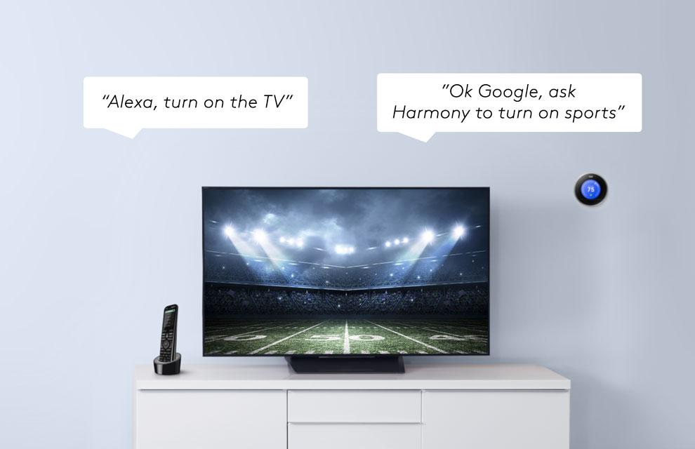 Logitech Harmony Hub Smart Home IR Hub & Universal Remote App